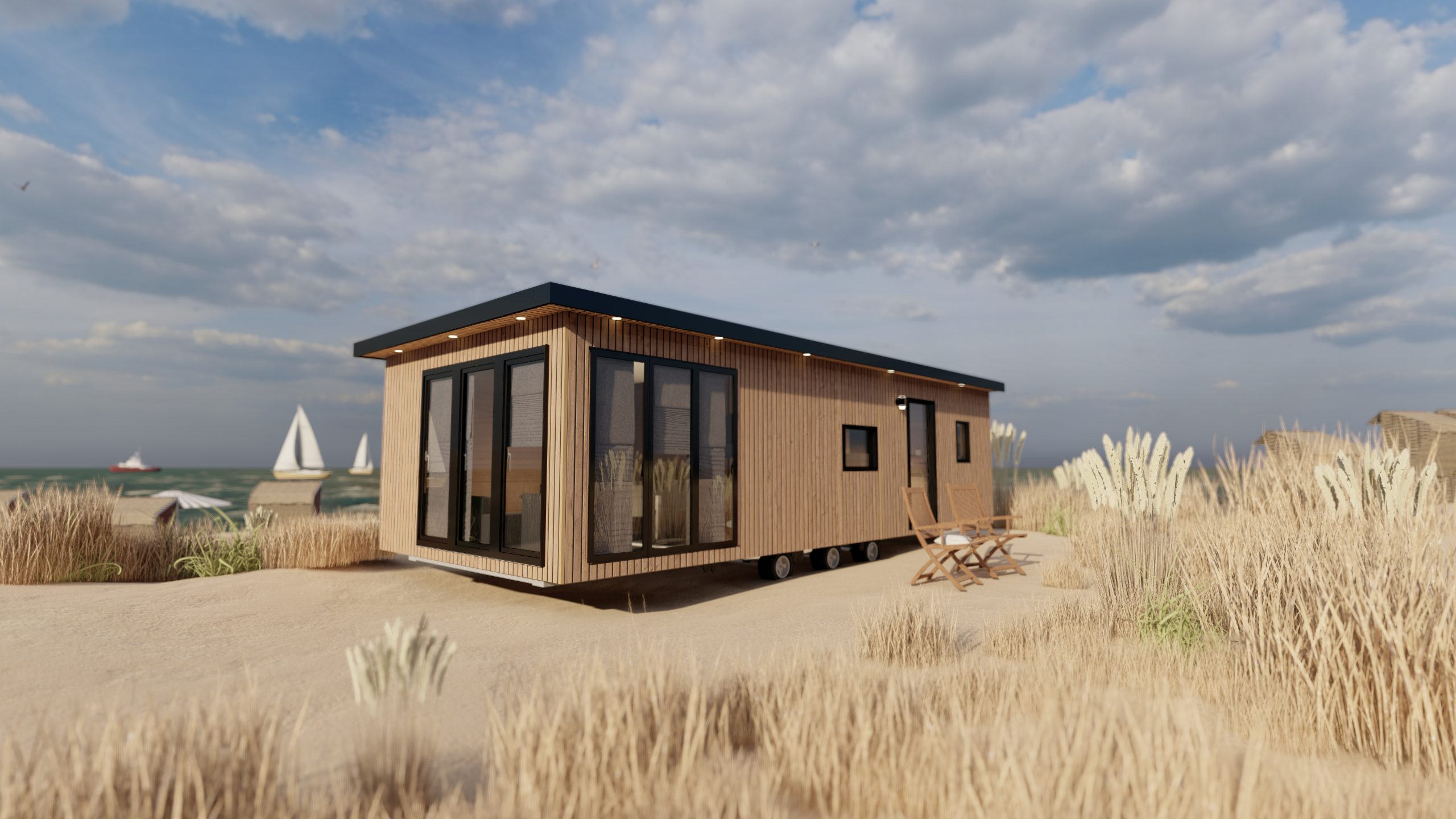 Containerhaus Visualisieren 3d Estate Render
