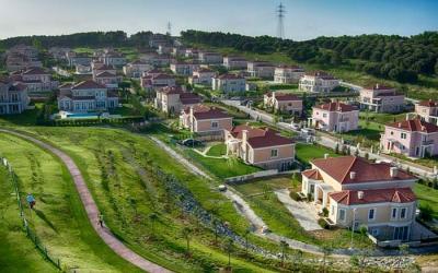 فلل للبيع Neo Gölpark Cevizli Mahallesi