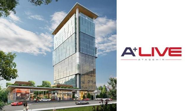 مشروعA+ Live Ataşehir مكتبي تجاري