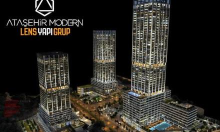 مشروع Ataşehir Modern سكني تجاري