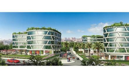 مشروع مكاتب وادي داب DAP Vadisi تشاغليان اسطنبول