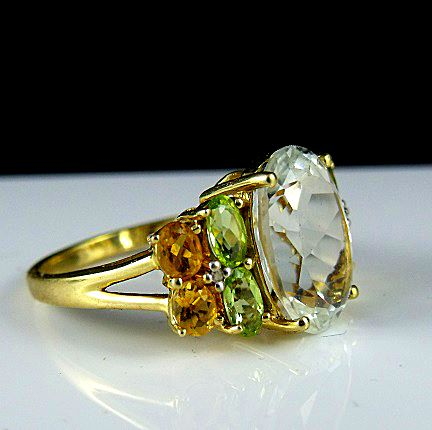 Topaz Ring from Estates in Time