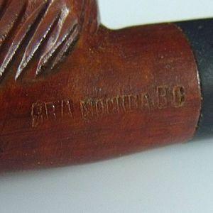 Lions head Tobacco Pipe