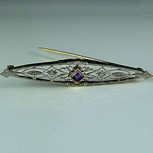 Edwardian Bar Pin