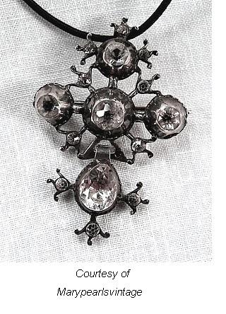 Paste Antique Jewelry