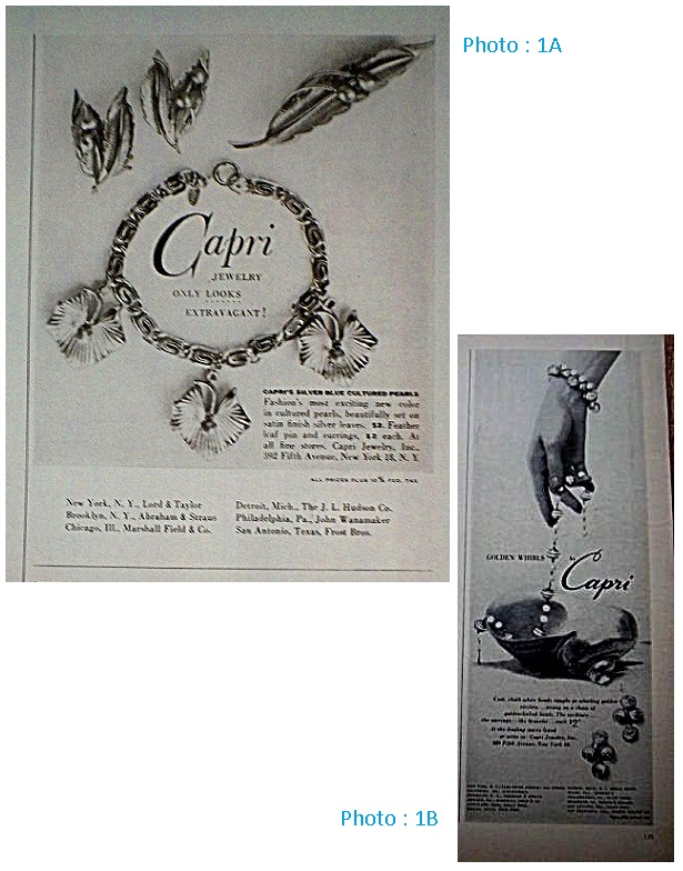 Capri Jewelry Inc