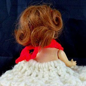 Doll Crochet Tissue Cover