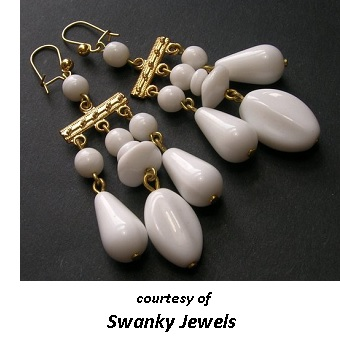 1950's Costume Jewelry Earrings