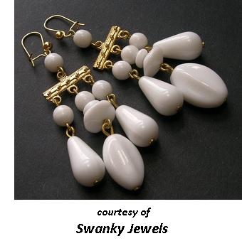 1950's Costume Jewelry Earrings