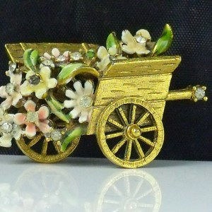 My Fair Lady Flower Cart