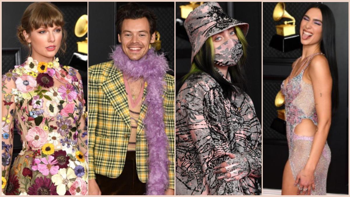 Grammy 2021: Los mejores 'looks' de la alfombra roja