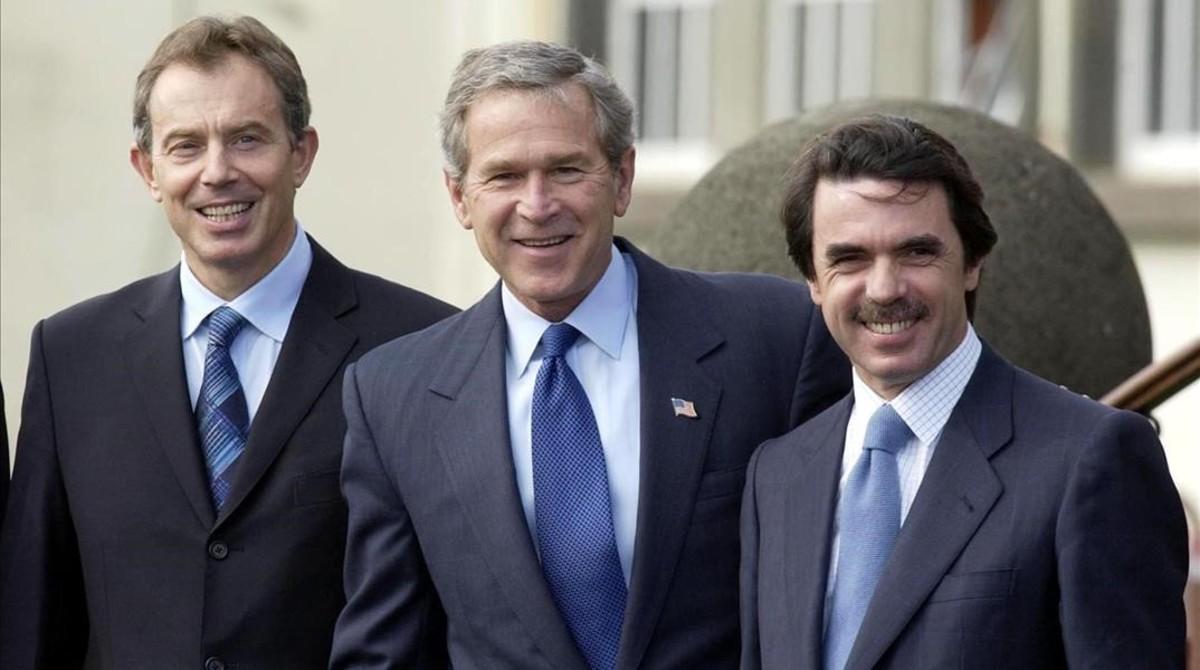La fatídica cumbre de las Azores que precipitó la invasión de Irak