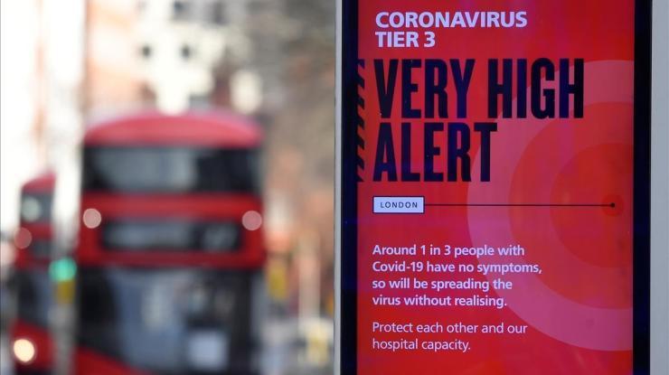 El Reino Unido avisa de que la nueva cepa de coronavirus se propaga más  rápido
