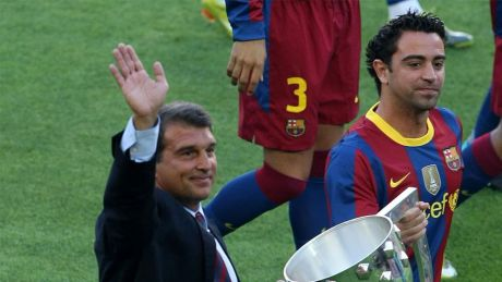 Xavi: I'm in contact with Laporta and I wish him the best