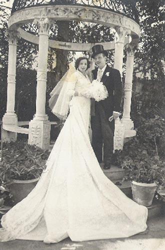 museo fotos viejas bodas novios