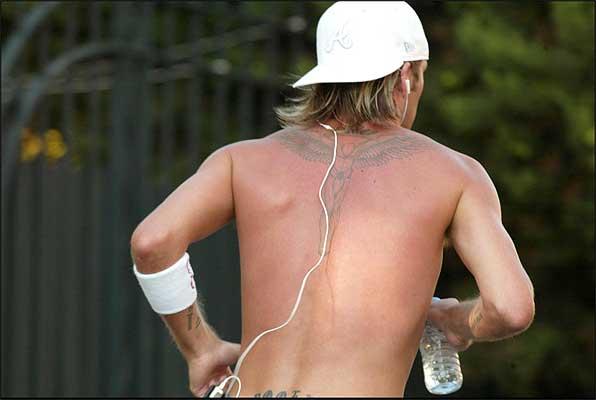 Los tatuajes expuestos han - Tattoo - Tatuaje de Alas de Angel