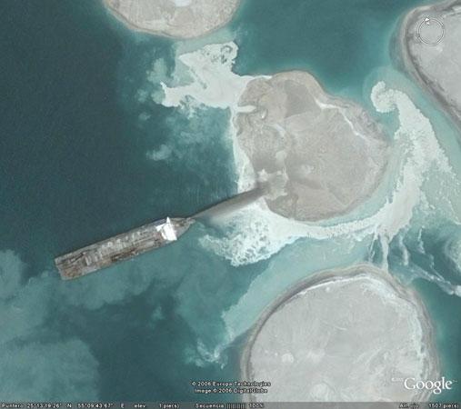 google contruir islas