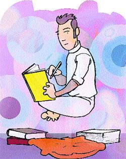El estudio no presencial puede requerir tanto tiempo y esfuerzo como ir a clase. (LUIS FRUTOS).
