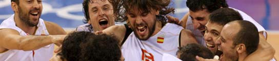 España aprieta los dientes ante unos duros lituanos y se mete en la final de baloncesto