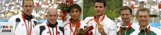 Craviotto y Pérez, oro en K2 500