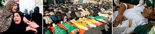 La ofensiva israeli ya suma 700 muertos en Gaza, más de 200 podrian ser niños