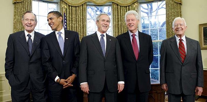 Los últimos presidentes     7/1/09