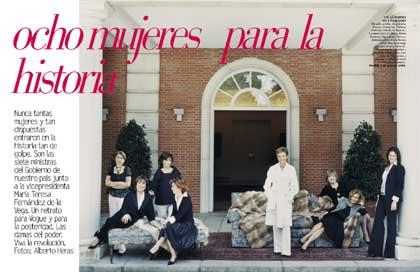 Las ministras, en Vogue.