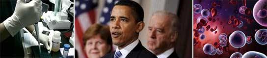 Obama y las células madre