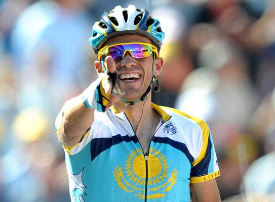 Contador sacó su pistola en la meta de Vervier