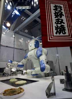<p>Robot cocinero.</p>