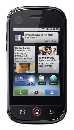<p>Motorola DEXT.</p>