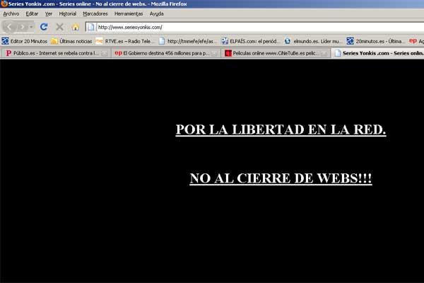 Protesta en Internet