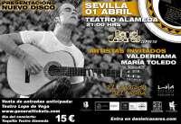 El guitarrista flamenco Daniel Casares ofrece este viernes un concierto en el Teatro Alameda