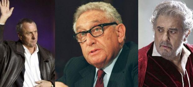 La FIFA ficha a Cruyff, Kissinger y Domingo