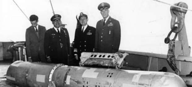Imagen de archivo del incidente nuclear de Palomares, España (Foto Archivo 20minutos.es)