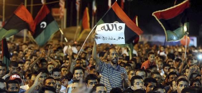 Los rebeldes toman Tripoli