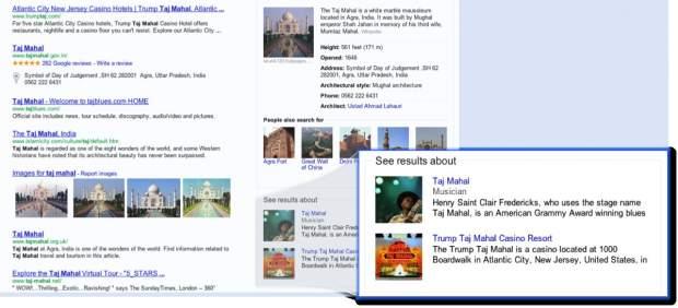 Nuevas búsquedas en Google