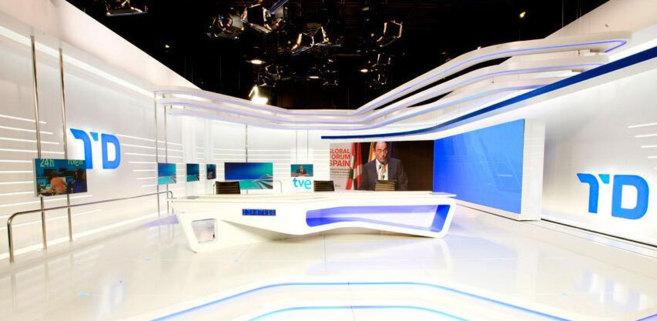 La nueva imagen de los Telediarios de TVE ver la luz el