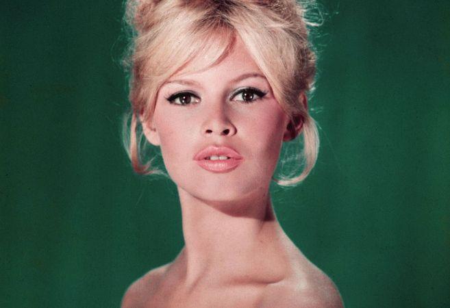 Retrato promocional de Brigitte Badot en 1960