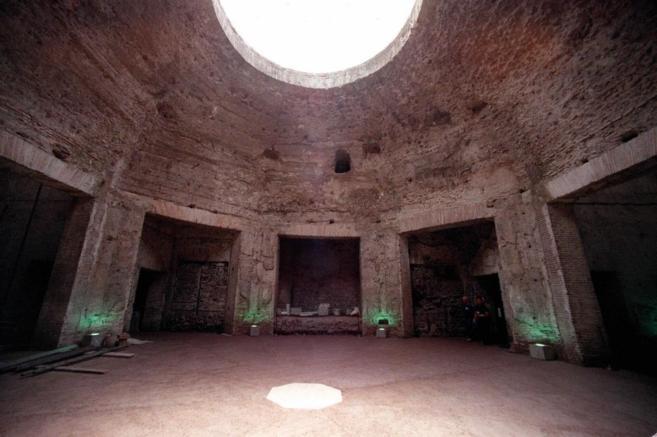 La Casa de Oro de Nern vuelve a brillar en Roma  La