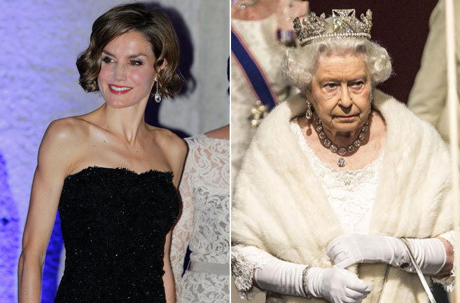 Letizia e Isabel II dos maneras de ser reina en el siglo XXI  loc  EL MUNDO