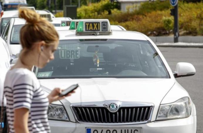 Resultado de imagen de taxi movil