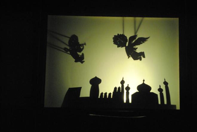 Teatro de luces y sombras para nios  Castelln  EL MUNDO