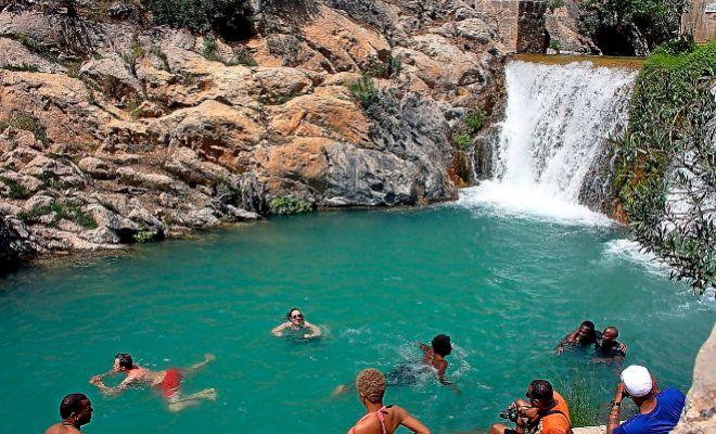 La Comunidad un paraso de piscinas naturales  Comunidad