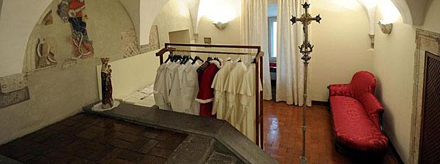Nuevo Papa La Sala de las Lgrimas el lugar ms ntimo y solitario del Cnclave  elmundoes