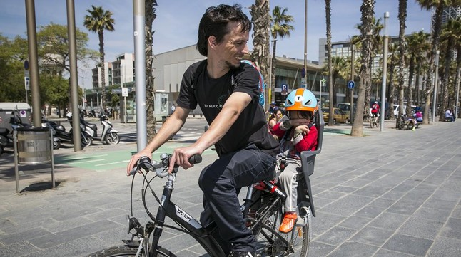 Silla Para Bicicleta Bebe Trasera