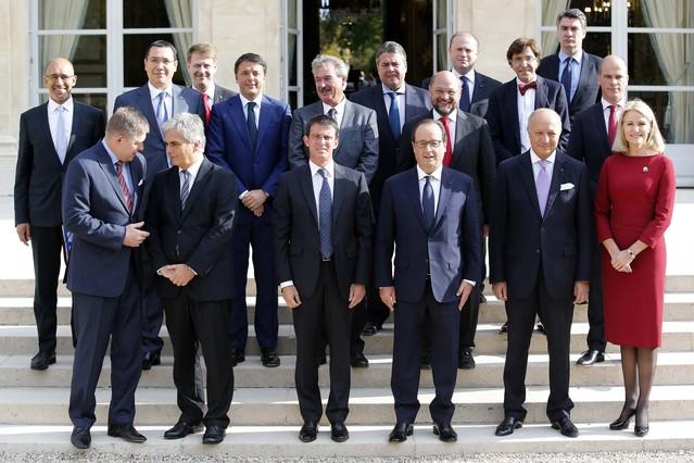 El frente europeo ante las políticas antidéficit de Merkel.