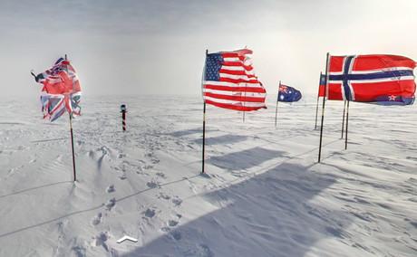 Vista del Polo Sur Ceremonial. / GOOGLE