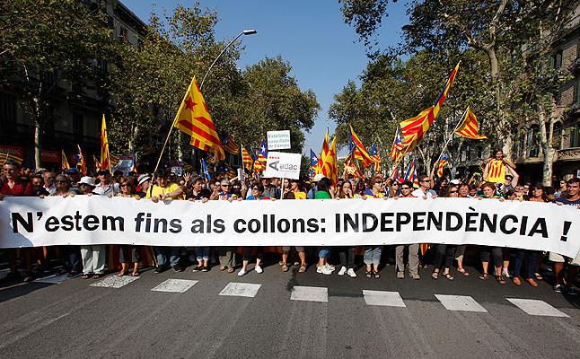 Estamos hasta los cojones: independencia