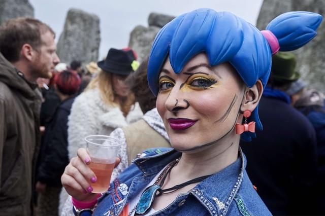Solsticio de verano: 23.000 personas participan en la fiesta pagana de Stonehenge